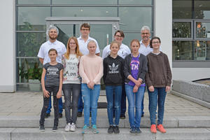 Gruppenbild Boys und Girls Day Firma GEKA