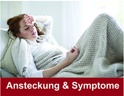 Ansteckung & Symptome